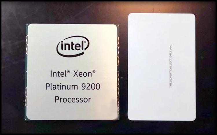 Intel Xeon Platinum 9200 Processor