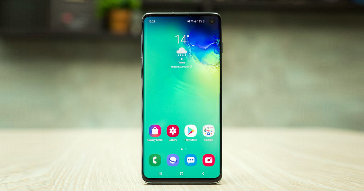 Samsung sends out a patch that improves Galaxy S10 performance