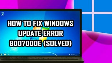 How To Fix Windows Update Error 8007000E (SOLVED)