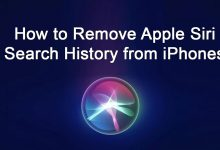How to remove Apple Siri search history from iPhones