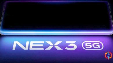 Vivo NEX 3 Launch date Announced