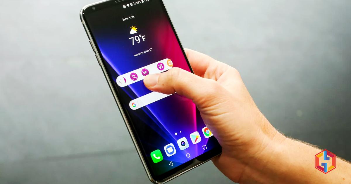 Verizon's LG V30 starts receiving Android Pie update